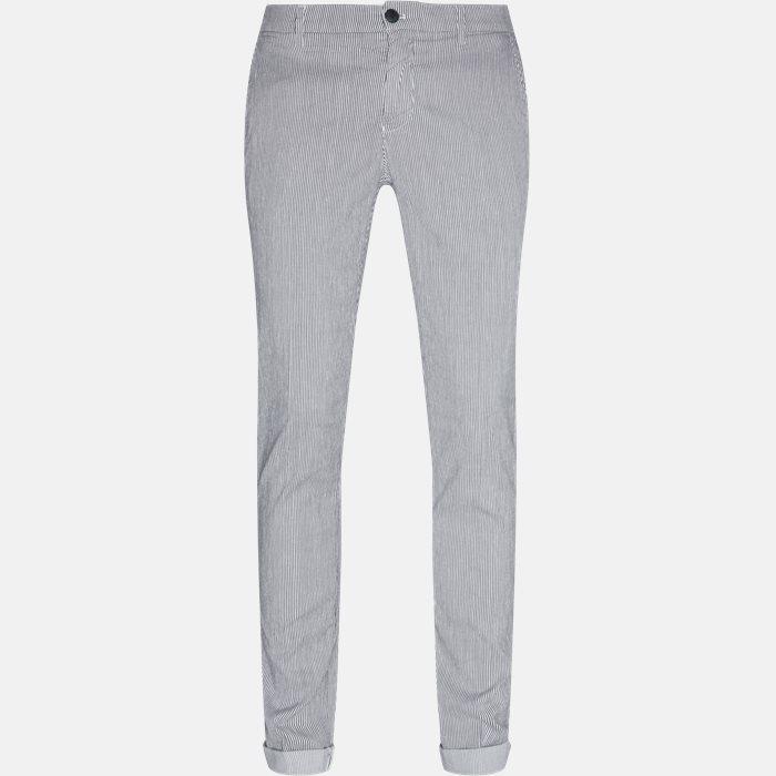 Trousers - Slim - Blue